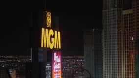 Ξενοδοχείο Λας Βέγκας MGM τή νύχτα - ΗΠΑ 2017 φιλμ μικρού μήκους