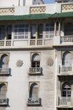 ξενοδοχείο μαροκινό Μαρόκο της Κασαμπλάνκα αρχιτεκτονικής Στοκ Εικόνες