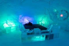 Ξενοδοχείο πάγου στο Lapland κοντά στη Sirkka, Φινλανδία στοκ φωτογραφία με δικαίωμα ελεύθερης χρήσης