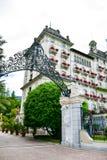 Ξενοδοχείο σε Stresa στη λίμνη Maggiore, Ιταλία στοκ φωτογραφία με δικαίωμα ελεύθερης χρήσης