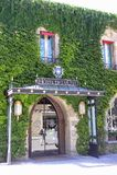 Ξενοδοχείο στην ενισχυμένη πόλη του Carcassonne Στοκ Φωτογραφίες