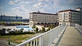 Ξενοδοχείο στην Τουρκία Στοκ Εικόνες