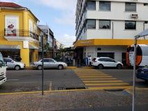Ξενοδοχείο ΣΤΟ ΚΕΝΤΡΟ ΤΗΣ ΠΌΛΗΣ Villahermosa στοκ εικόνα