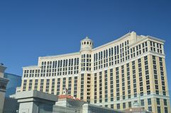 Ξενοδοχείο του Μπελάτζιο στο Las Vegas Strip Διακοπές ταξιδιού στοκ εικόνες με δικαίωμα ελεύθερης χρήσης