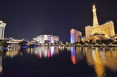 Ξενοδοχείο του Παρισιού και χαρτοπαικτική λέσχη, αντανάκλαση, εικονική παράσταση πόλης, πόλη, μητροπολιτική περιοχή Στοκ εικόνα με δικαίωμα ελεύθερης χρήσης
