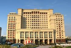 Ξενοδοχείο του Four Seasons στη στο κέντρο της πόλης Μόσχα στοκ φωτογραφίες