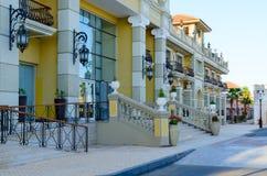 Ξενοδοχείο του IL Mercato & SPA στην επιχείρηση και την περιοχή αγορών του IL Mercato, Sheikh Sharm EL, Αίγυπτος Στοκ Εικόνες