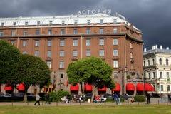 Ξενοδοχείο Astoria στη θερινή ημέρα Στοκ φωτογραφίες με δικαίωμα ελεύθερης χρήσης