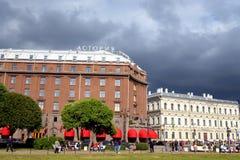 Ξενοδοχείο Astoria στη θερινή ημέρα Στοκ εικόνες με δικαίωμα ελεύθερης χρήσης