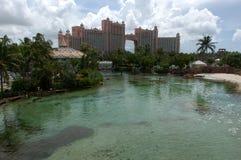 Ξενοδοχείο Atlantis στις Μπαχάμες, Nassau Στοκ εικόνα με δικαίωμα ελεύθερης χρήσης