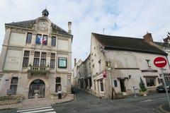 Ξενοδοχείο de ville ή αίθουσα πόλεων, Montrichard, Γαλλία στοκ φωτογραφία με δικαίωμα ελεύθερης χρήσης