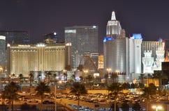 Ξενοδοχείο Excalibur και χαρτοπαικτική λέσχη, μητροπολιτική περιοχή, μητρόπολη, ορίζοντας, ουρανοξύστης στοκ φωτογραφία με δικαίωμα ελεύθερης χρήσης