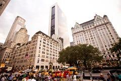 Ξενοδοχείο Plaza στη 5$η λεωφόρο στη Νέα Υόρκη Στοκ Φωτογραφίες