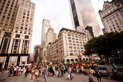 Ξενοδοχείο Plaza στη 5$η λεωφόρο στη Νέα Υόρκη Στοκ φωτογραφίες με δικαίωμα ελεύθερης χρήσης