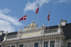 ΞΕΝΟΔΟΧΕΙΟ Δ ` ANGELETERRRE Στοκ φωτογραφία με δικαίωμα ελεύθερης χρήσης