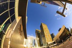 Ξενοδοχεία της Aria στο κέντρο πόλεων στο Λας Βέγκας Στοκ Φωτογραφία