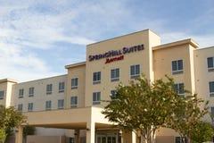 Ξενοδοχείο αλυσίδων ακολουθιών Springhill Στοκ Εικόνες