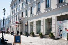 ξενοδοχείο εισόδων σύγχ& Στοκ Φωτογραφίες