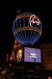 Ξενοδοχείο και χαρτοπαικτική λέσχη του Παρισιού στο Λας Βέγκας Στοκ εικόνες με δικαίωμα ελεύθερης χρήσης