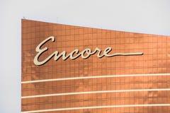 Ξενοδοχείο και χαρτοπαικτική λέσχη Encore Στοκ Εικόνες