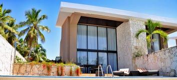 Ξενοδοχείο Καταλωνία βασιλικό Bavaro Στοκ Εικόνα