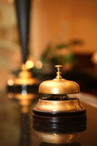 ξενοδοχείο κουδουνιώ&n Στοκ εικόνες με δικαίωμα ελεύθερης χρήσης