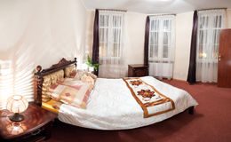 ξενοδοχείο κρεβατοκάμ&al Στοκ εικόνες με δικαίωμα ελεύθερης χρήσης