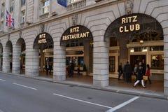 Ξενοδοχείο Λονδίνο Ritz Στοκ φωτογραφία με δικαίωμα ελεύθερης χρήσης