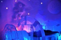 Ξενοδοχείο πάγου Στοκ φωτογραφία με δικαίωμα ελεύθερης χρήσης