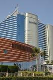 Ξενοδοχείο παραλιών Jumeirah στο Ντουμπάι, Ε.Α.Ε. Στοκ φωτογραφία με δικαίωμα ελεύθερης χρήσης