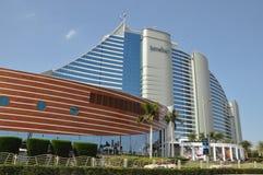 Ξενοδοχείο παραλιών Jumeirah στο Ντουμπάι, Ε.Α.Ε. Στοκ φωτογραφίες με δικαίωμα ελεύθερης χρήσης