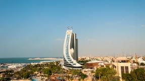 Ξενοδοχείο παραλιών Jumeirah Στοκ φωτογραφία με δικαίωμα ελεύθερης χρήσης