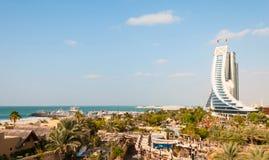 Ξενοδοχείο παραλιών Jumeirah Στοκ Εικόνες