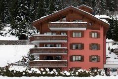 Ξενοδοχείο πολυτελείας, Klosters, Ελβετία Στοκ εικόνες με δικαίωμα ελεύθερης χρήσης