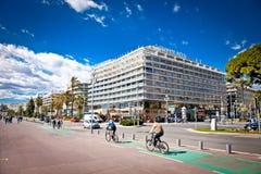 Ξενοδοχείο πολυτελείας LE Meridien στη Νίκαια, Γαλλία Στοκ εικόνες με δικαίωμα ελεύθερης χρήσης