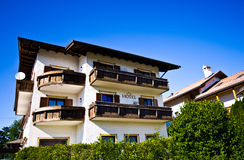 Ξενοδοχείο σε Castelrotto, Ιταλία Στοκ φωτογραφία με δικαίωμα ελεύθερης χρήσης