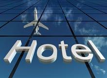 Ξενοδοχείο σημαδιών ελεύθερη απεικόνιση δικαιώματος