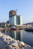 Ξενοδοχείο στην κατασκευή Στοκ φωτογραφία με δικαίωμα ελεύθερης χρήσης