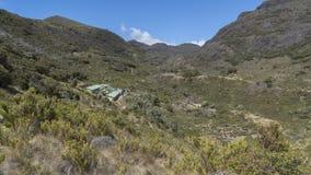 Ξενοδοχείο στο εθνικό πάρκο Chirripo στοκ εικόνες