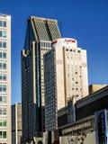 Ξενοδοχείο στο κέντρο της πόλης Μόντρεαλ Marriot Στοκ φωτογραφίες με δικαίωμα ελεύθερης χρήσης