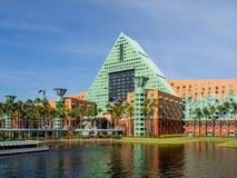 Ξενοδοχείο του Κύκνου και δελφινιών, κόσμος της Disney στοκ φωτογραφία