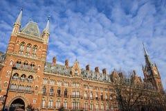 Ξενοδοχείο του Λονδίνου αναγέννησης του ST Pancras στοκ φωτογραφία