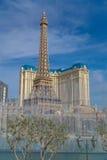 Ξενοδοχείο του Παρισιού και χαρτοπαικτική λέσχη στο Λας Βέγκας, Νεβάδα Στοκ εικόνες με δικαίωμα ελεύθερης χρήσης