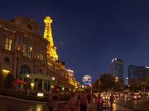 Ξενοδοχείο του Παρισιού στο Λας Βέγκας Στοκ Εικόνες