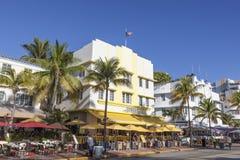 Ξενοδοχείο του Art Deco στο Μαϊάμι Στοκ Φωτογραφία