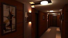 Ξενοδοχείο Ελεύθερη απεικόνιση δικαιώματος
