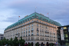 Ξενοδοχείο Adlon, Βερολίνο στοκ εικόνες με δικαίωμα ελεύθερης χρήσης