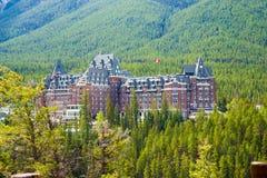 Ξενοδοχείο Banff Στοκ Εικόνες