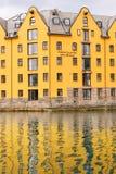 Ξενοδοχείο Bryggen συλλογής σαλπίγγων. Στοκ Φωτογραφία