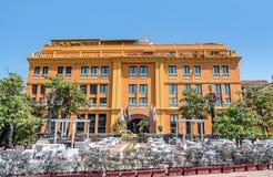 Ξενοδοχείο Chaleston στην παλαιά πόλη Καρχηδόνα, Κολομβία Στοκ φωτογραφία με δικαίωμα ελεύθερης χρήσης